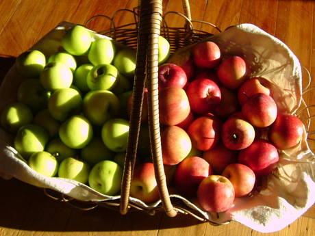 Last of the apples