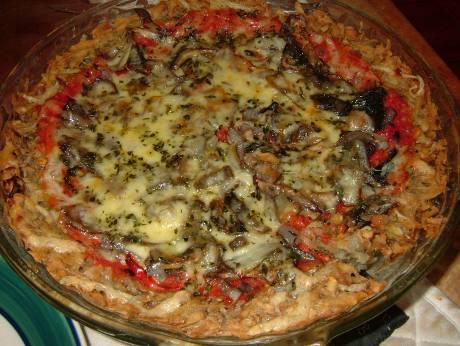 Potato Based Pizza
