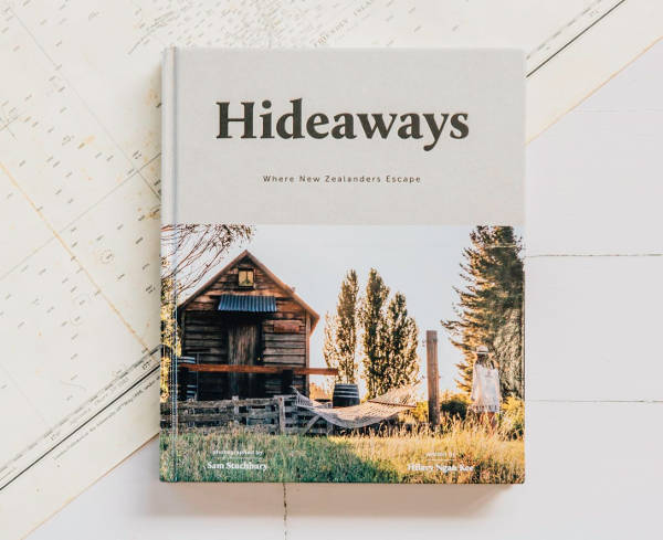 Blockhill features in NZ Hideaways book