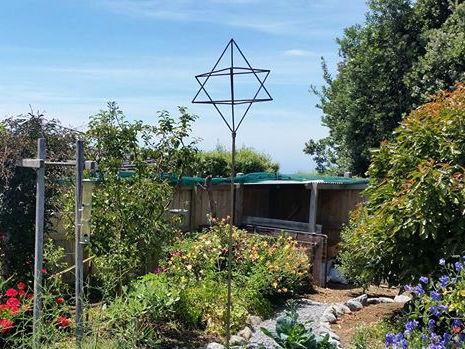 Star tetrahedron rising in Kaikoura