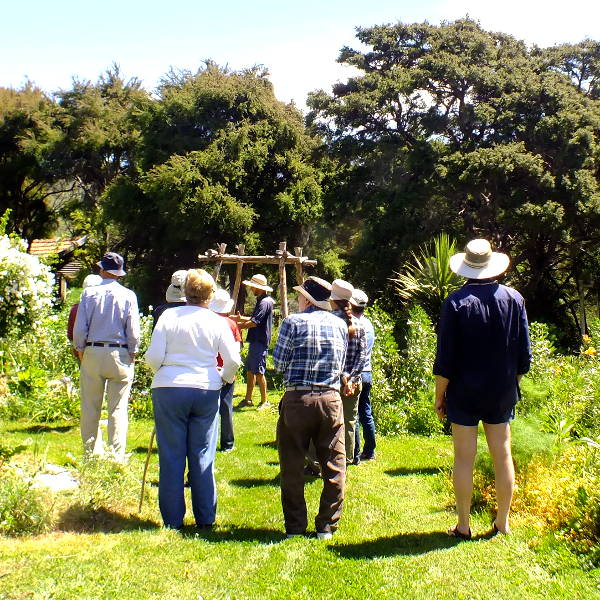 Visit from Tree Crops North Canterbury