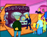 Olmec and The Simpsons