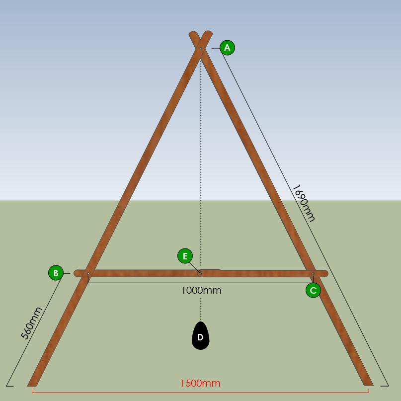 Constructing an A-Frame level